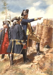 Washington and Rochambeau at Yorktown by Don Troiani