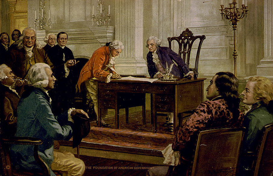 th of twistification signing of the constitution