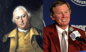 Spurrier and Lincoln...I think I see a resemblance.