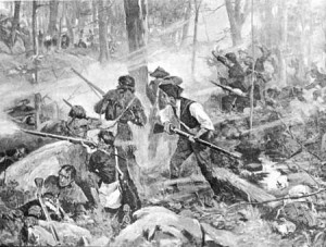 The Battle of King's Mountain. Essentially the end of any substantial Loyalist Support in the South
