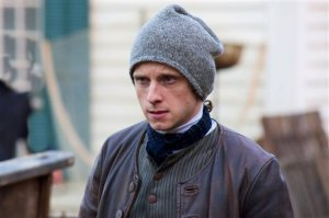Jamie Bell as Abraham Woddhull