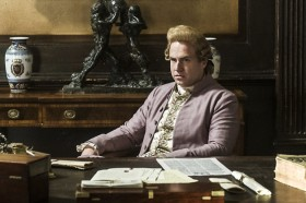 John Hancock Played by Rafe Spall